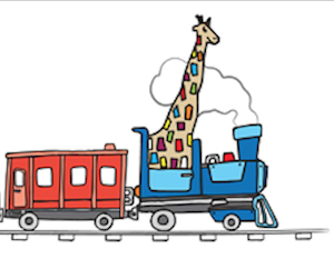 Train girafe
